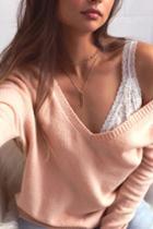 Lulus - Infatuation Gold Layered Choker Necklace