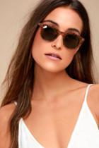 Inline Tortoise Sunglasses | Lulus