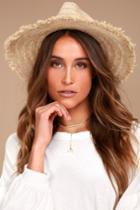 Rhythm | Sun Beige Straw Hat | Lulus