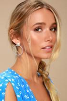 Wila Silver Earrings   Lulus