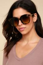 Dominant Tortoise Sunglasses | Lulus