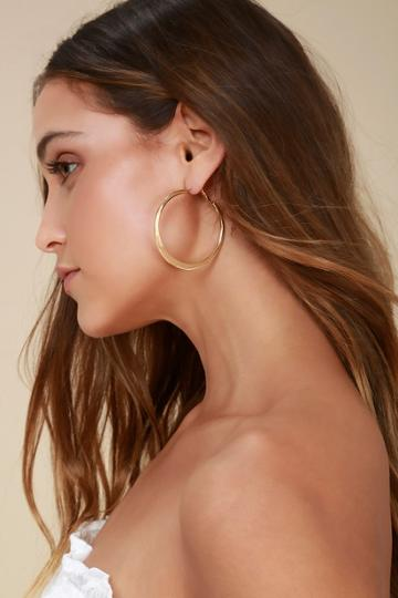 Current Fave Gold Hoop Earrings | Lulus
