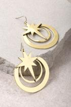 Lulus Life Energy Gold Earrings