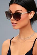 Friday Feels Tortoise Sunglasses | Lulus