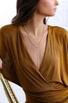 Drive Me Wild Gold Layered Necklace | Lulus