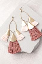 Ettika Destiny Around You Gold And Terra Cotta Earrings | Lulus