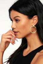 Wila Gold Earrings | Lulus