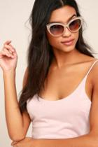 Lulus | Maria Beige And Tortoise Sunglasses