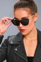 Perverse | My Black Sunglasses | Lulus