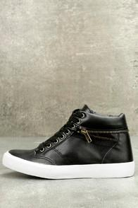 City Classified Brax Black High-top Sneakers
