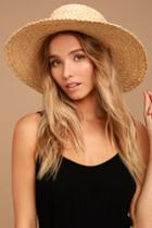 Wyeth | Suzy Beige Straw Sun Hat | Vegan Friendly | Lulus
