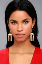 Lulus | Venezia Gold Earrings