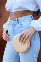 Serena Beige Round Clutch | Lulus