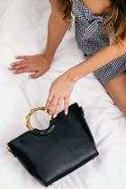 Amberleigh Black Handbag | Lulus