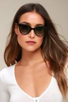 Always Black Sunglasses | Lulus