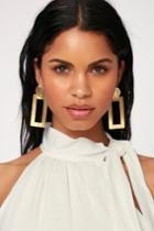 Make It Modern Gold Earrings | Lulus