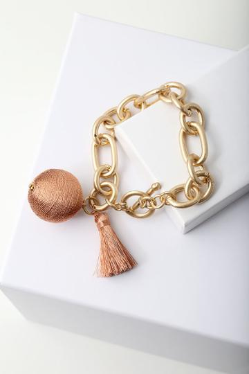 Carressa Gold And Rose Gold Chain Bracelet | Lulus
