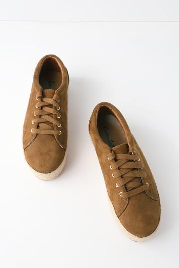 Bonnibel Shannon Tan Suede Espadrille Sneakers | Lulus