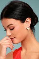 Lulus | Desert Dance Gold Earrings