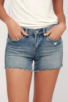 Blank Nyc Essex Light Wash Distressed Cutoff Denim Shorts | Lulus