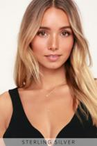 Wishing On A Star Gold Drop Necklace | Lulus