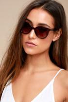Always Brown Sunglasses | Lulus
