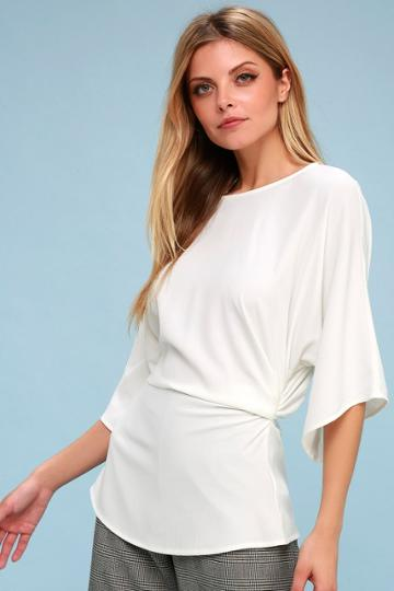 Dedication White Top | Lulus