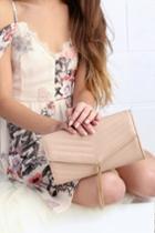 Wear And When Beige Clutch | Lulus