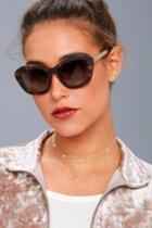 Perverse | My Tortoise Sunglasses | Brown | Lulus