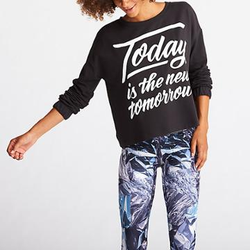 Lucy Show Up Pullover Graphic - Today