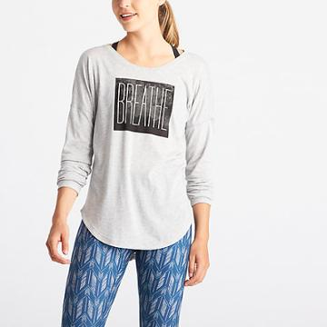 Lucy Graphic Long Sleeve - Breathe