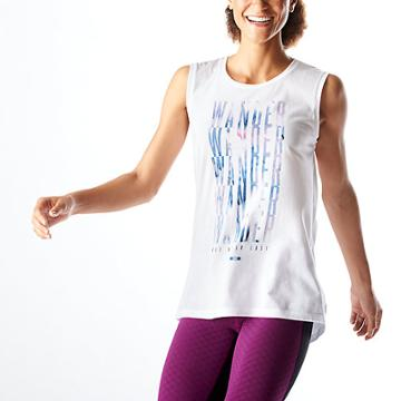 Lucy Graphic Tank - Wander