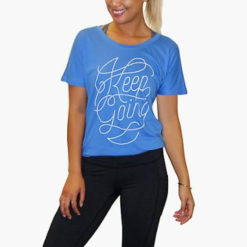 Lucy Graphic Final Rep Top- Keep Going