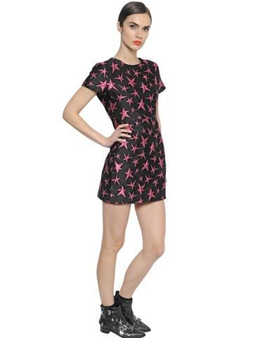 Msgm - Stars Jacquard Dress