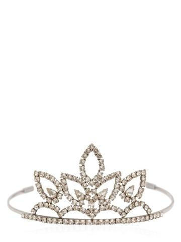 Saint Laurent Pointed Crystal Tiara