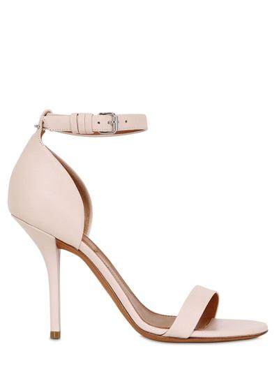 Givenchy - 100mm Petra Leather Sandals
