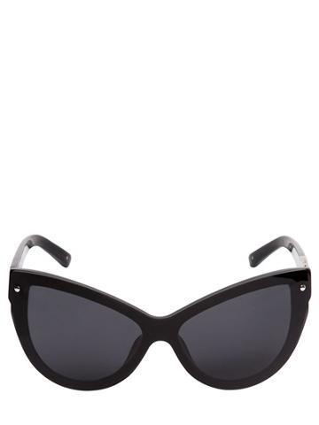 3.1 Phillip Lim X Linda Farrow Cat Eye Mask Acetate Sunglasses