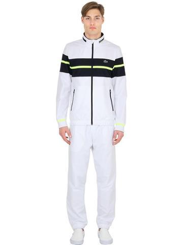 Lacoste Taffeta Nylon Tennis Sweatshirt & Pants