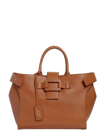 Roger Vivier Medium Pilgrim De Jour Leather Bag