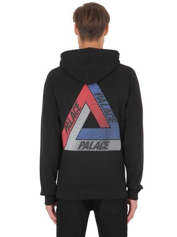 Palace Skateboards Drury Cotton Jersey Sweatshirt