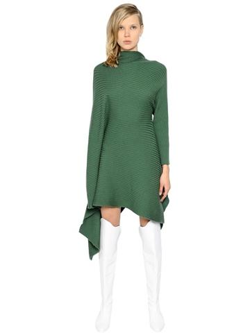 Marques'almeida Asymmetrical Wool Dress