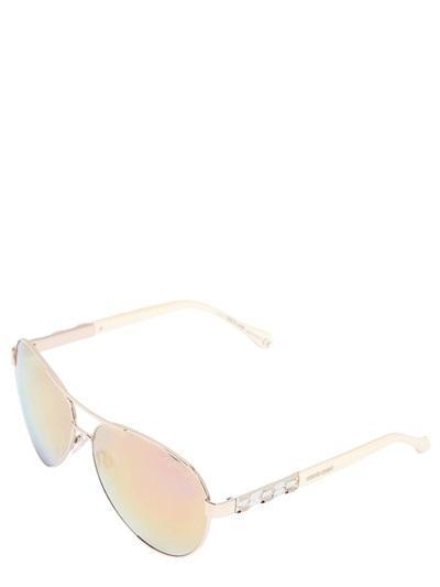 Roberto Cavalli Mirror Lenses Aviator Sunglasses
