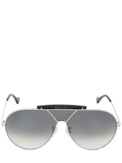 Balenciaga Oversized Aviator Sunglasses