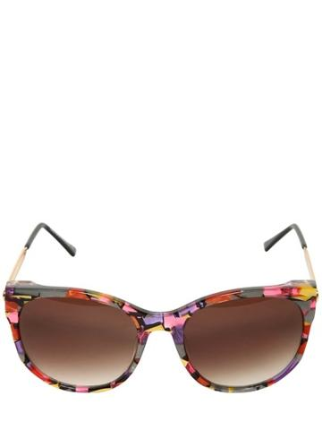 Thierry Lasry Anobexxxy Cat Eye Acetate Sunglasses