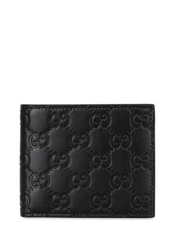 Gucci Gg Leather Classic Wallet