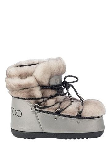 Moon Boot & Jimmy Choo Mb Buzz Reflex Shearling Ankle Boots