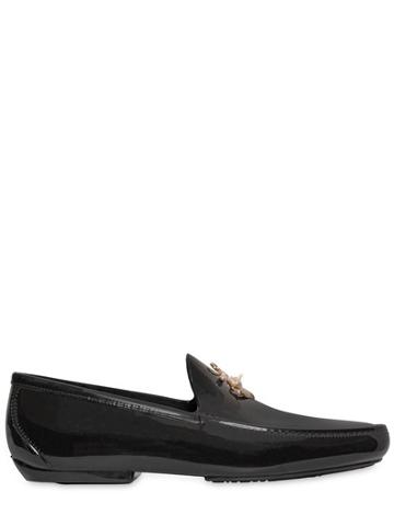 Vivienne Westwood Anchor Detail On Jelly Loafers