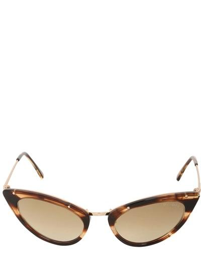 Tom Ford Grace Cat-eye Shiny Acetate Sunglasses