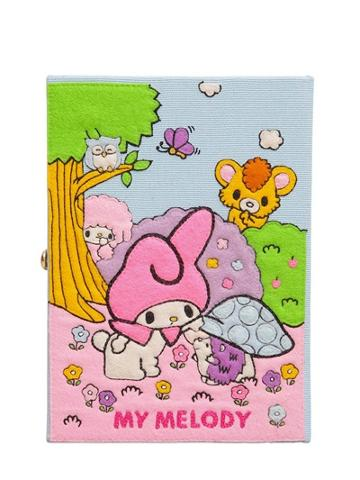 Olympia Le-tan My Melody Hand Embroidered Book Clutch