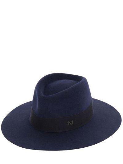 Maison Michel - Charles Rabbit Fur Felt Large Brim Hat